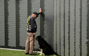 Mobile Vietnam Memorial Makes Stop in Santa Fe, New Mexico.