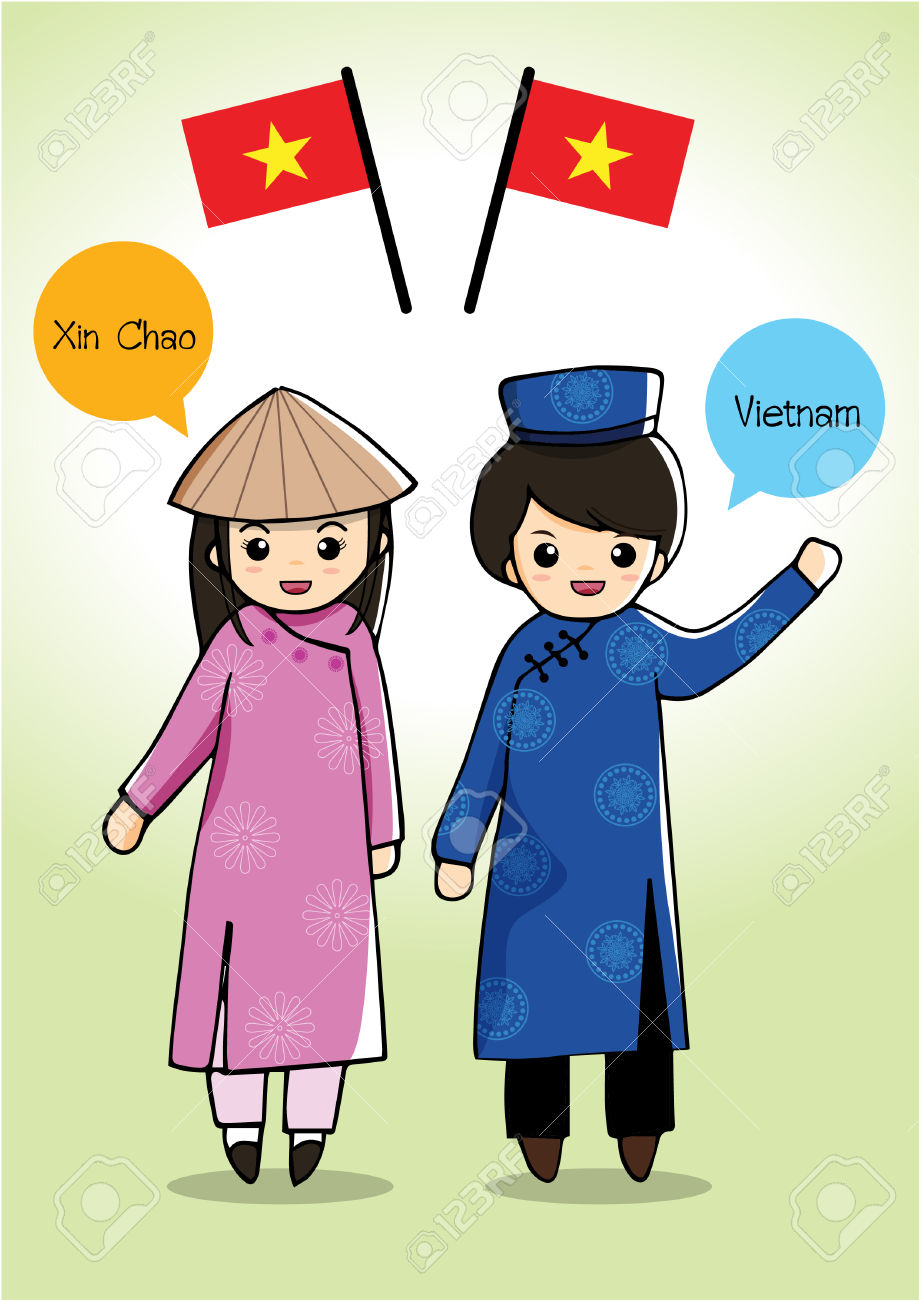 Showing post & media for Vietnamese dress cartoon.