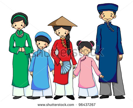 Vietnamese Culture Clipart.