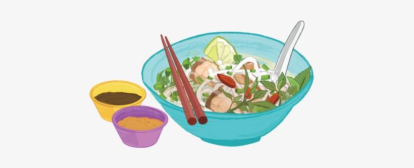 Download Pho Drawing Food Vietnamese.