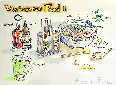 Showing post & media for Vietnamese food cartoon.