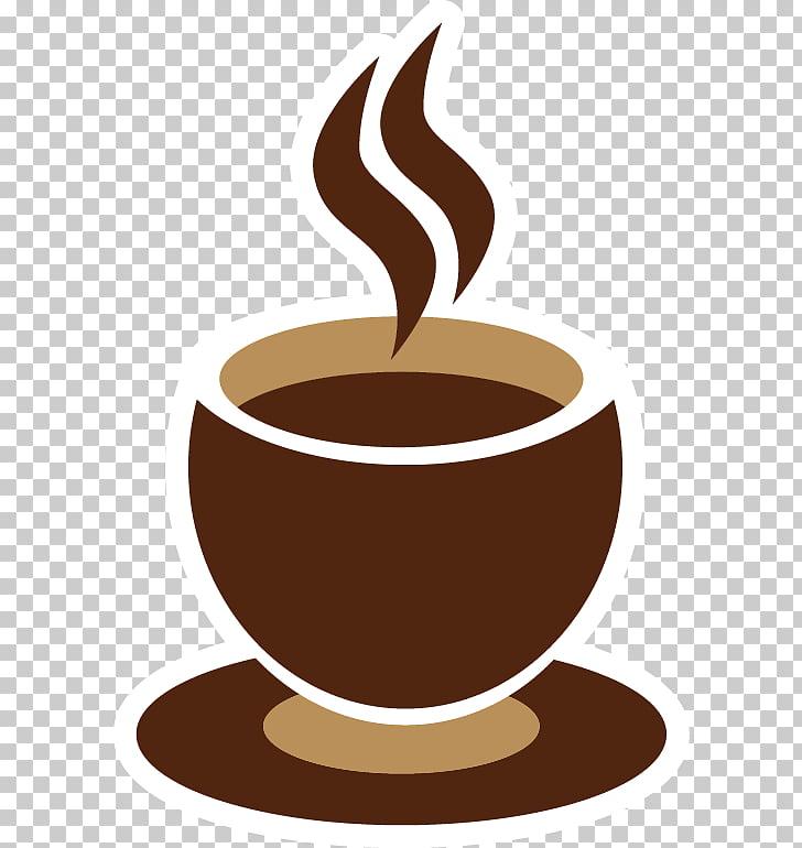 Vietnamese iced coffee Ristretto Espresso Coffee cup.