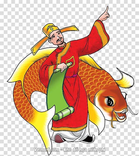Kitchen God Festival Lunar New Year Vietnamese people.