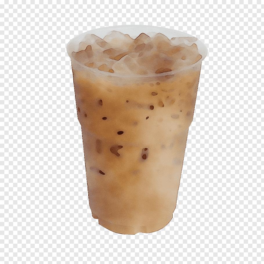 Ice, Iced Coffee, Sweetened Beverage, Drink, Flavor, Food.