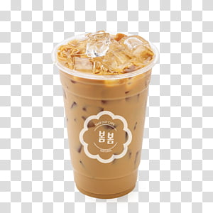 Milk Tea Background, Latte, Cafe, Coffee, Iced Coffee.
