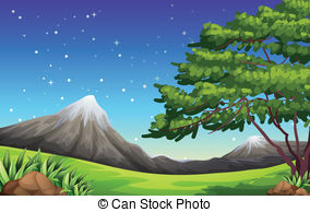 Night view Vector Clipart Royalty Free. 8,747 Night view.