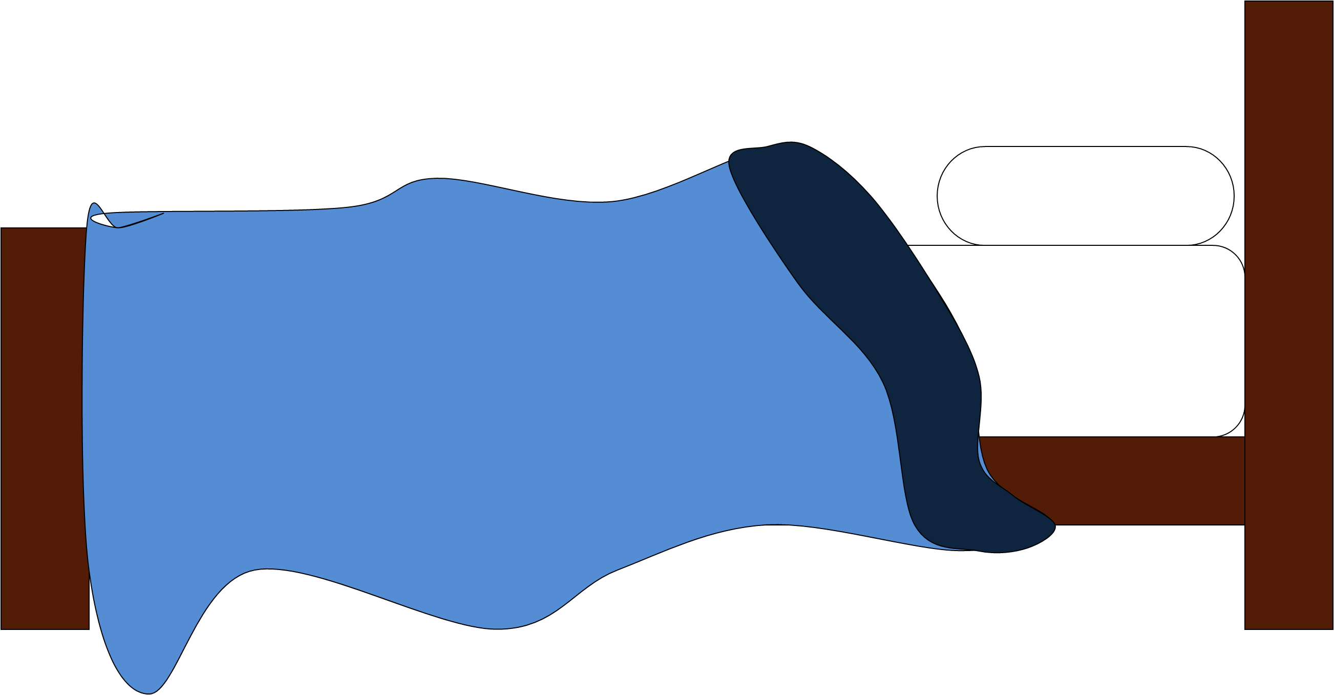 Bed Clipart Side View.