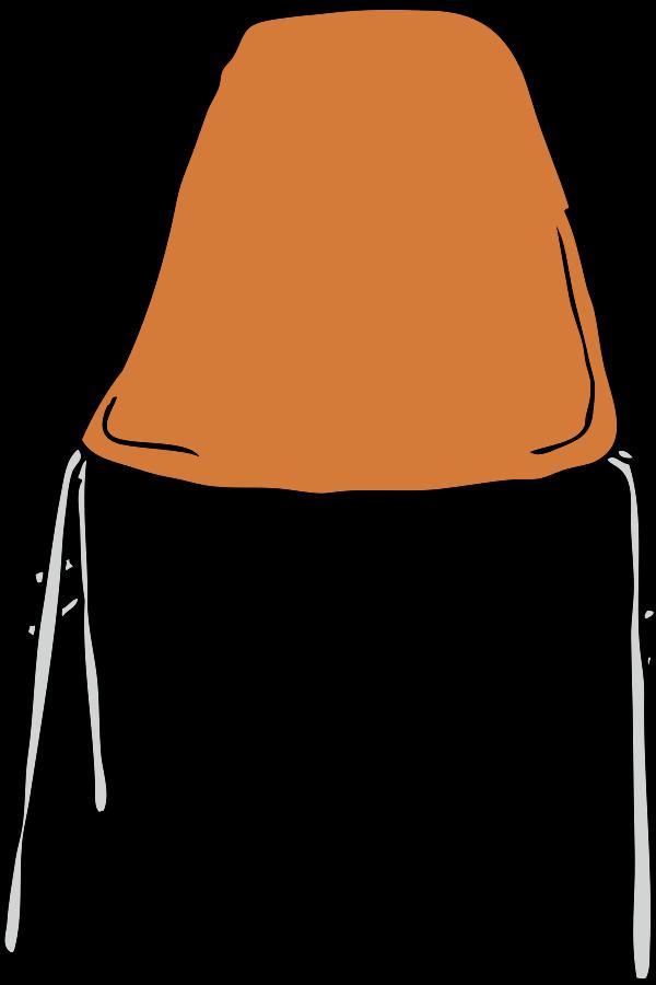 Modern Chair Front Clipart, vector clip art online, royalty.