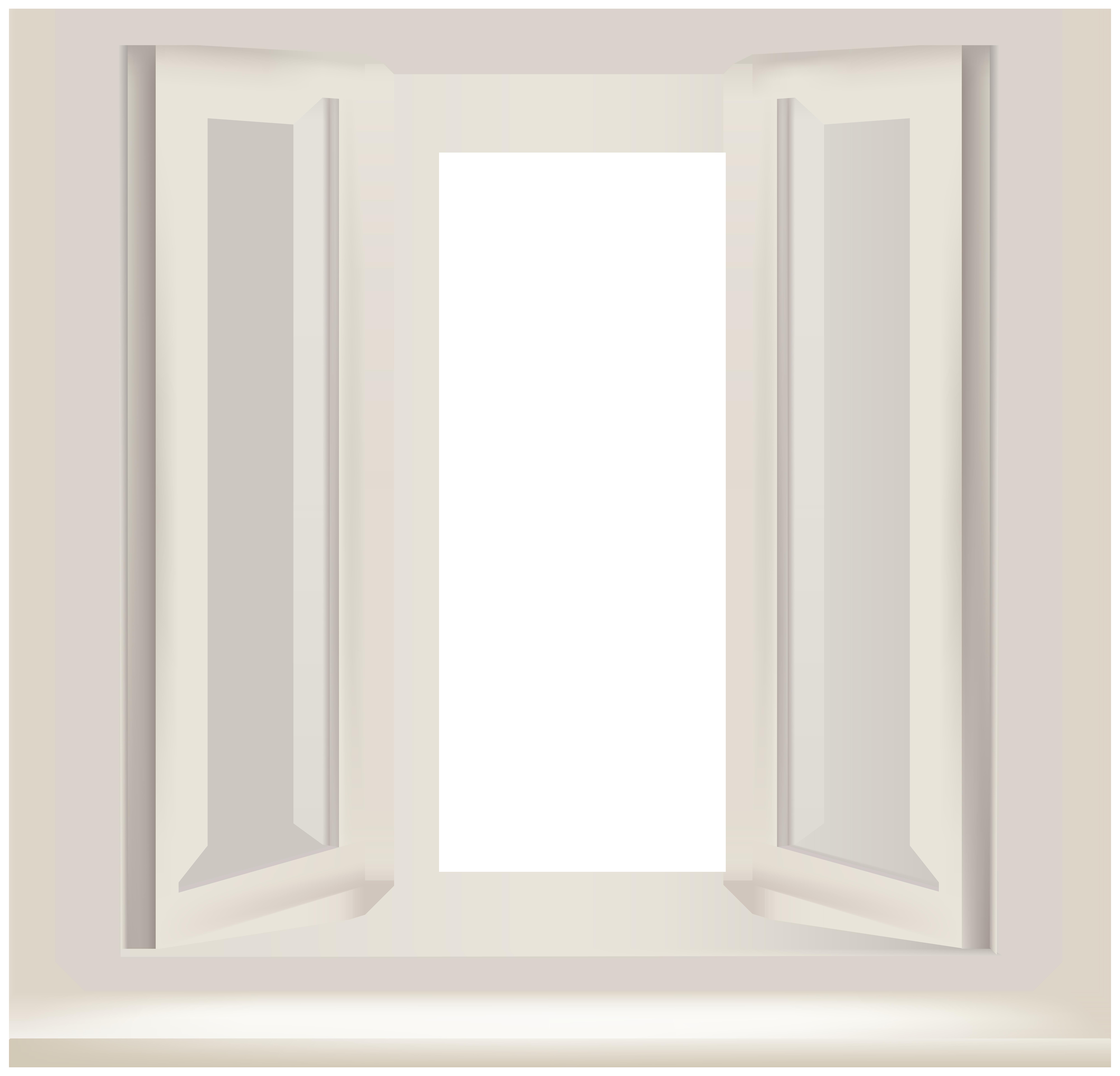 Transparent Window PNG Clip Art.