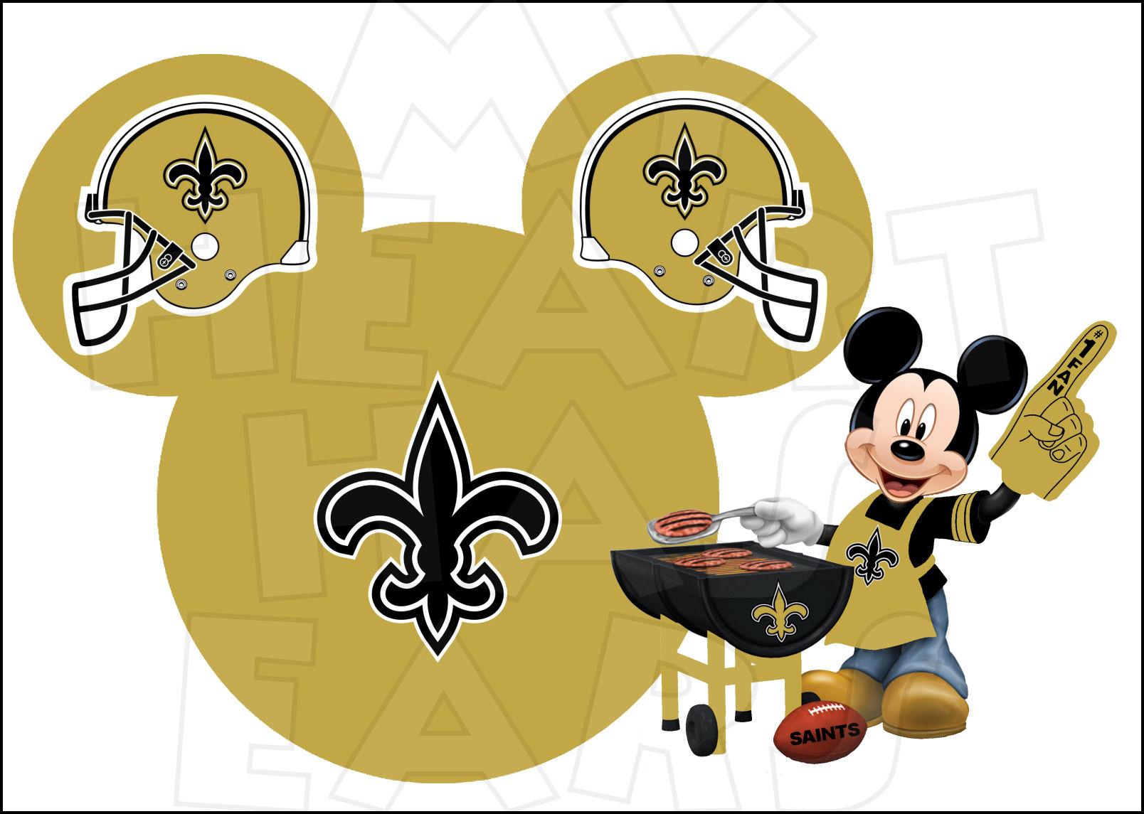 New Orleans Saints Clipart.