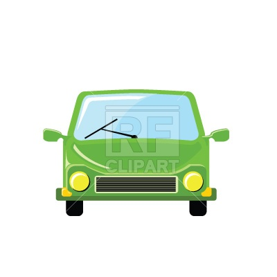 Car Front View Clipart.