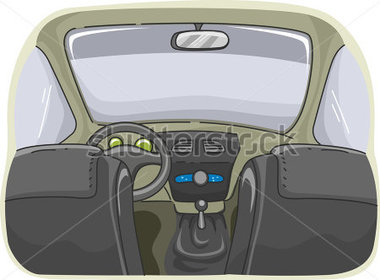 Showing post & media for Cartoon car top view inside.