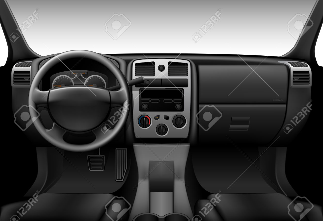 2,623 Car Inside Stock Vector Illustration And Royalty Free Car.