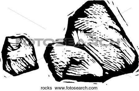 Clip Art of Rocks rocks.