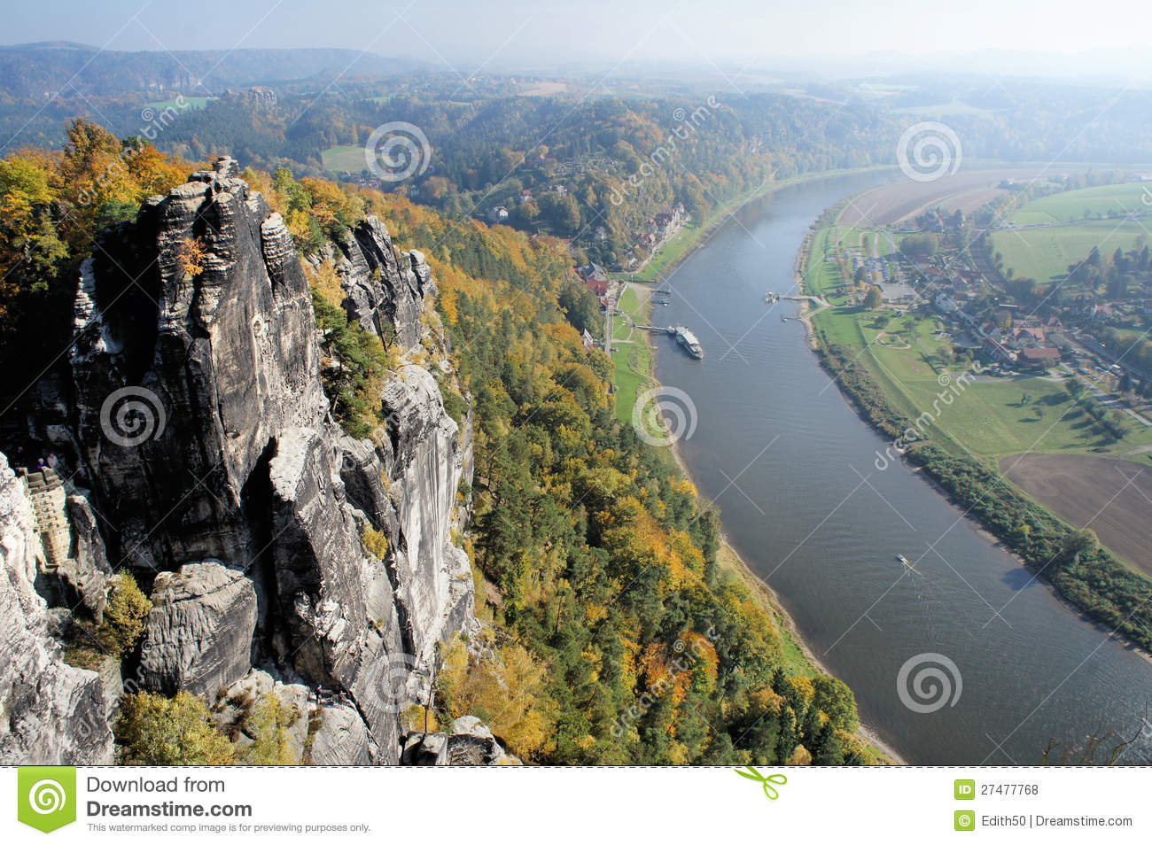 View From The Bastei.
