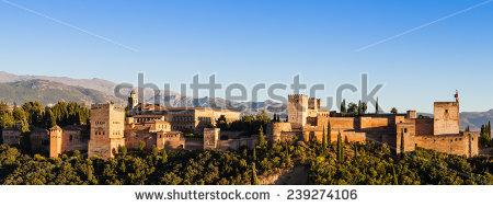 Alhambra Spain Castle Stock Photos, Royalty.