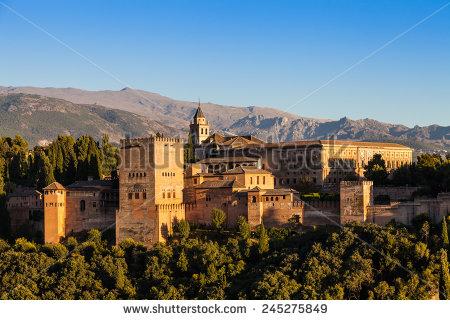 Granada Spain Stock Images, Royalty.