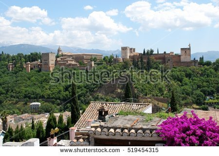 Granada Stock Photos, Royalty.