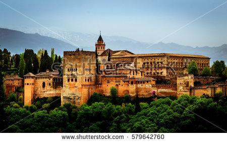 Granada Stock Photos, Royalty.