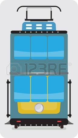Streetcar Street Stock Vector Illustration And Royalty Free.