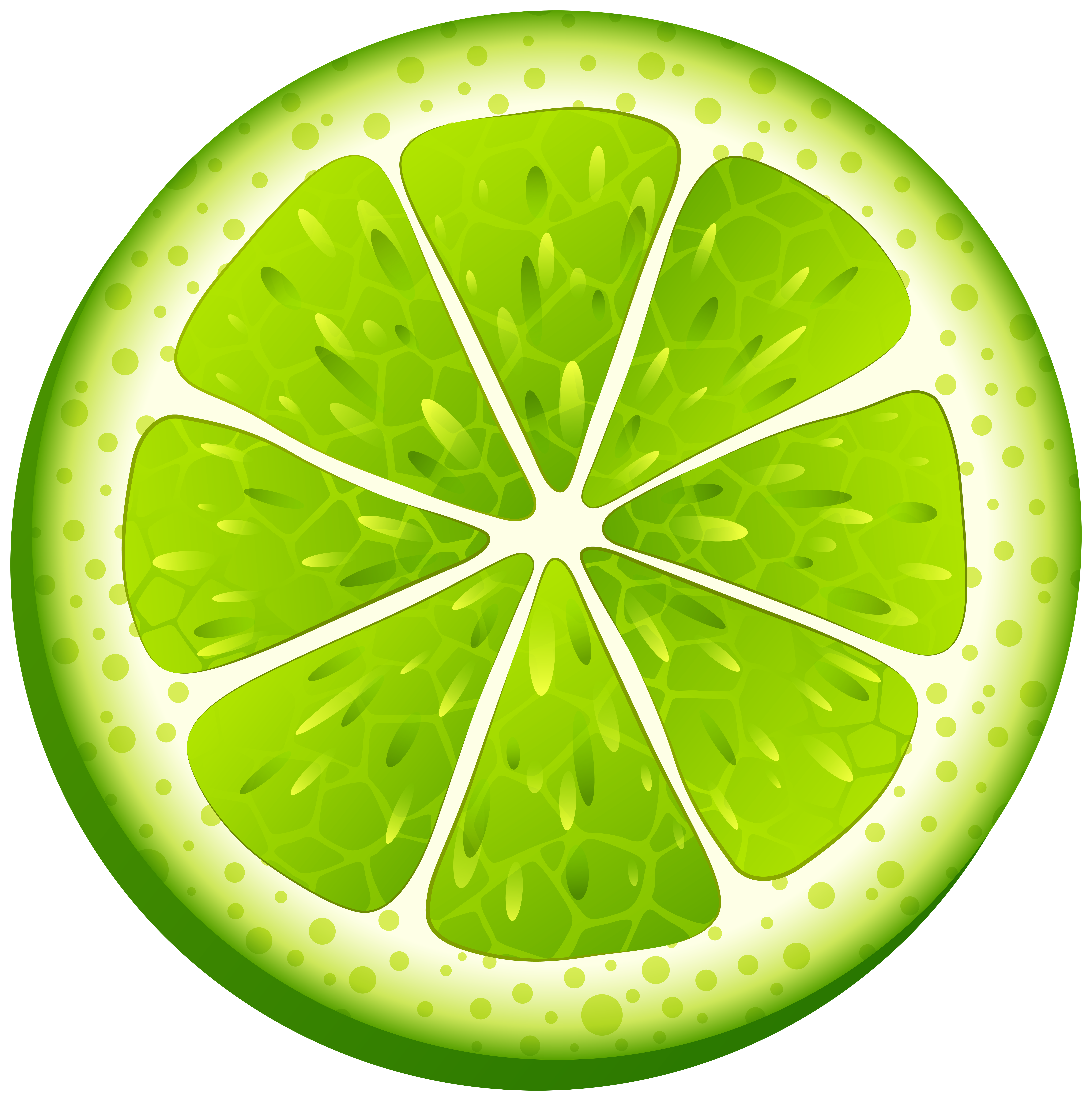 Lime PNG Clip Art Transparent Image.