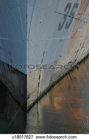 Picture of hull, ship, boat, paint, stripe u18017627.