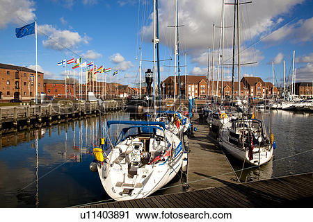 Stock Photography of England, East Riding of Yorkshire, Kingston.