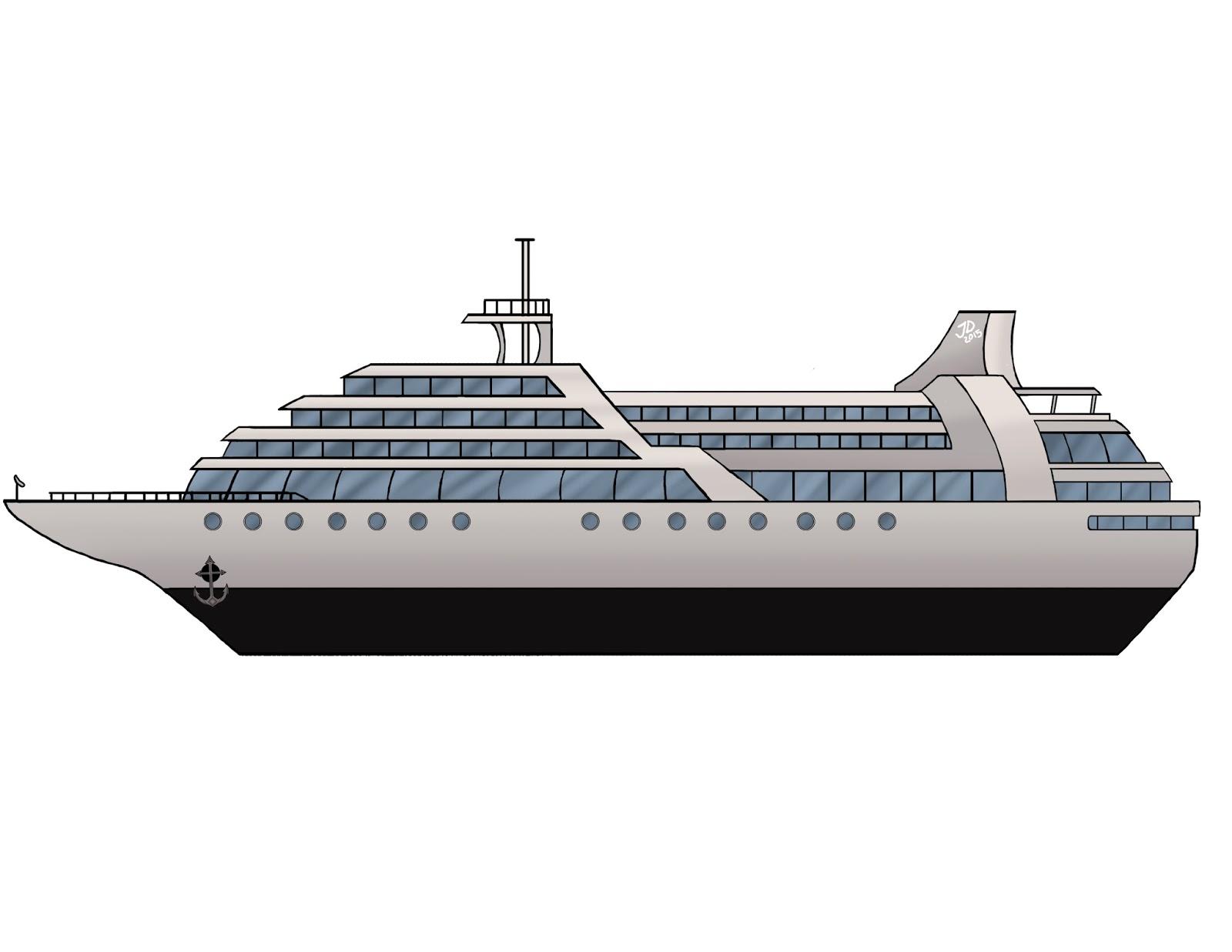 Animated cruise ship clip art.