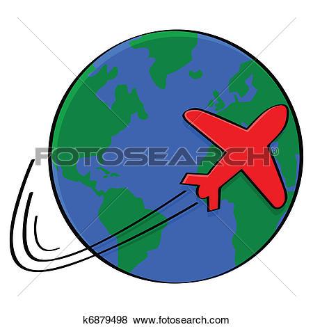 Clip Art of Around the world k6879498.