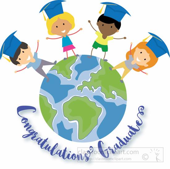 Graduation : children.