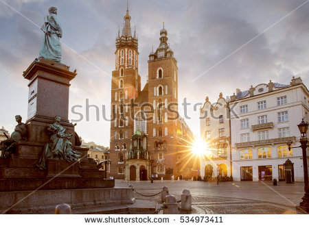Krakow Stock Photos, Royalty.