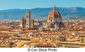 Stock Image of Florence city centre.