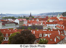 Prague city panorama Illustrations and Stock Art. 73 Prague city.