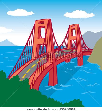 Showing post & media for Cartoon bridge over water.
