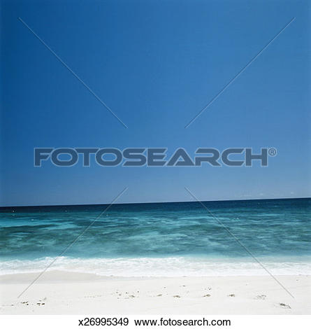 Stock Photograph of Horizon over water x26995349.