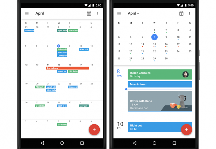 Google is Bringing Month View Back to Calendar for Android.
