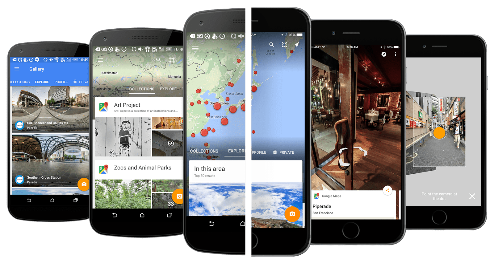A new standalone Street View app for Android and iOS is not.