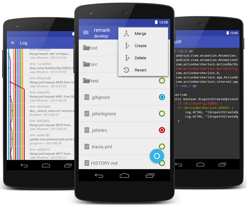 Git on the go with these mobile apps for Git (and GitHub).