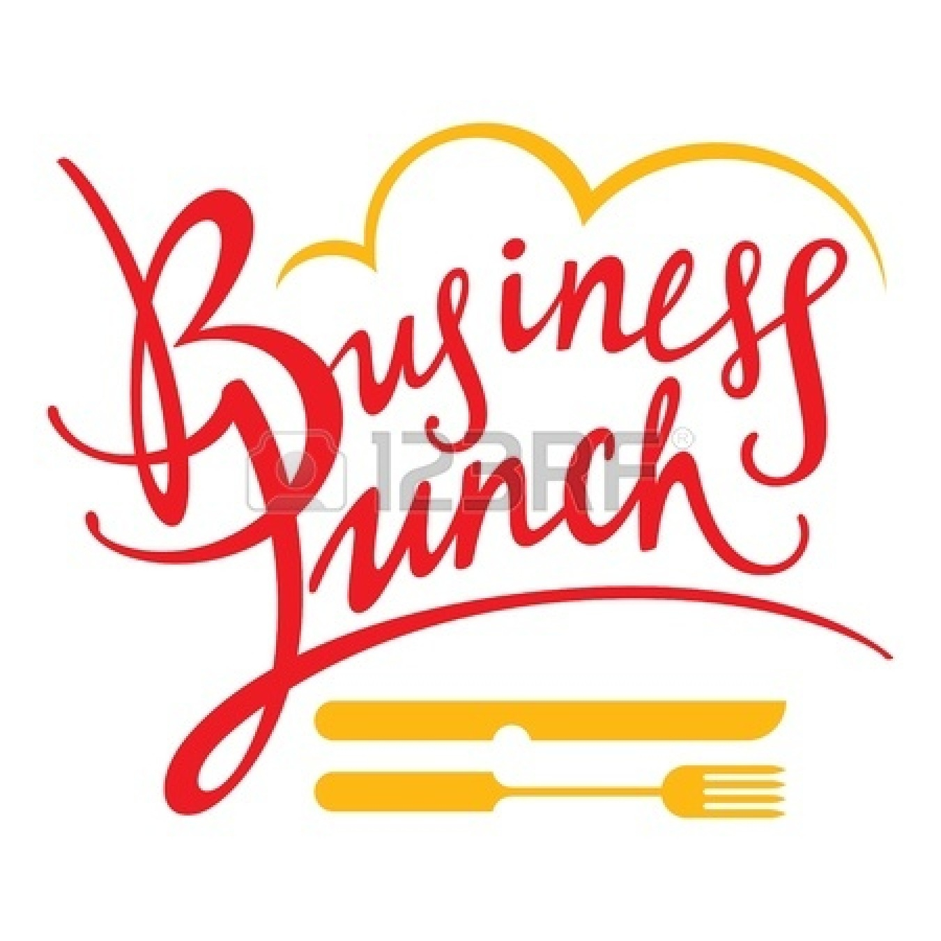 Business Lunch Clipart Free.