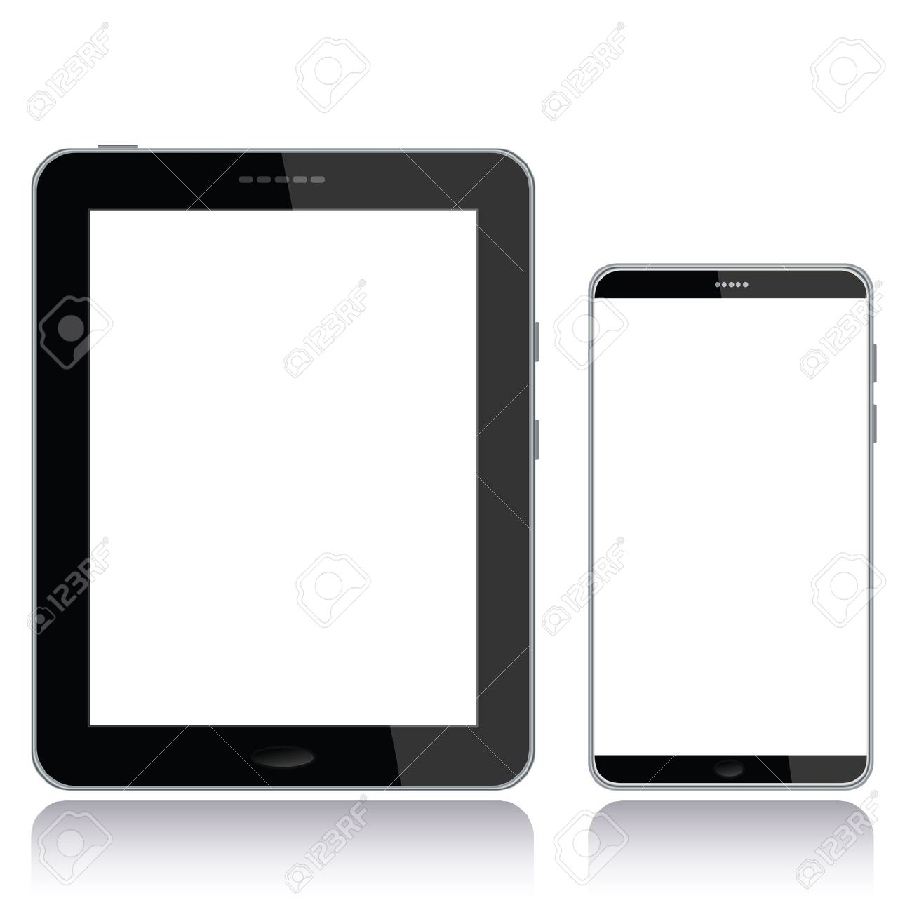 Phone Tablet Clipart.