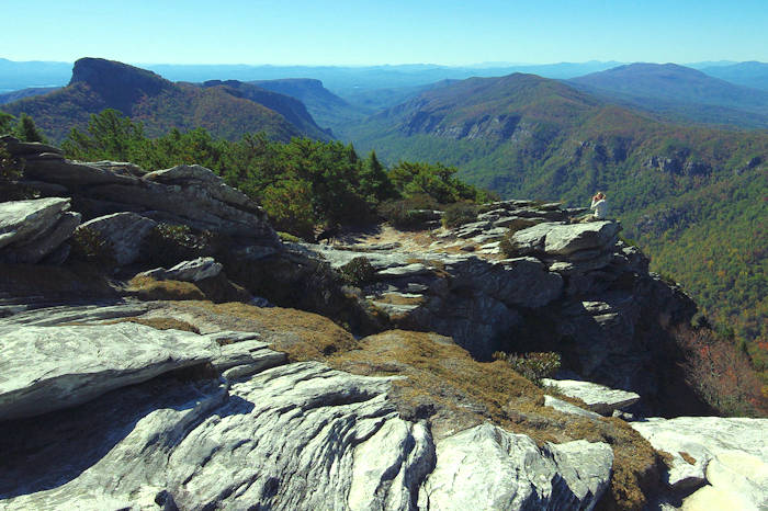 Linville Gorge & Wiseman's View, North Carolina ~ probably too far.