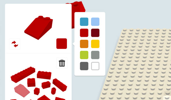 Make Creative PowerPoint Bar Charts using LEGO Bricks.