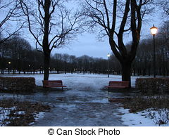 Stock Photography of Vigeland park Oslo csp2414221.