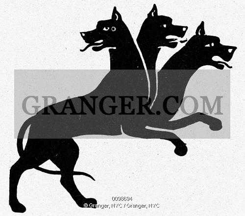 Showing post & media for Three headed dog symbol.