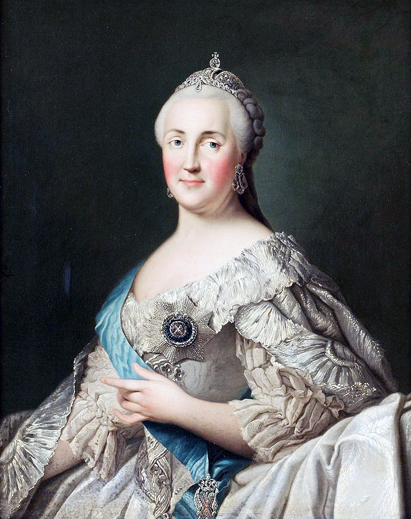 Vigilius Eriksen: Portrait of Catherine the Great, date unknown.