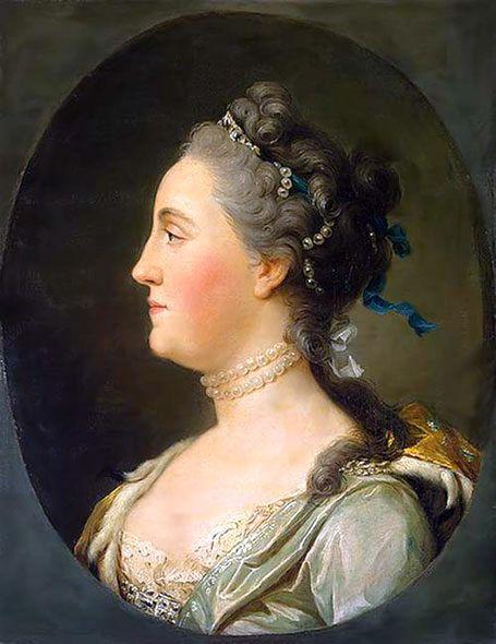 Vigilius Eriksen Portrait of Catherine II of Russia 1762.
