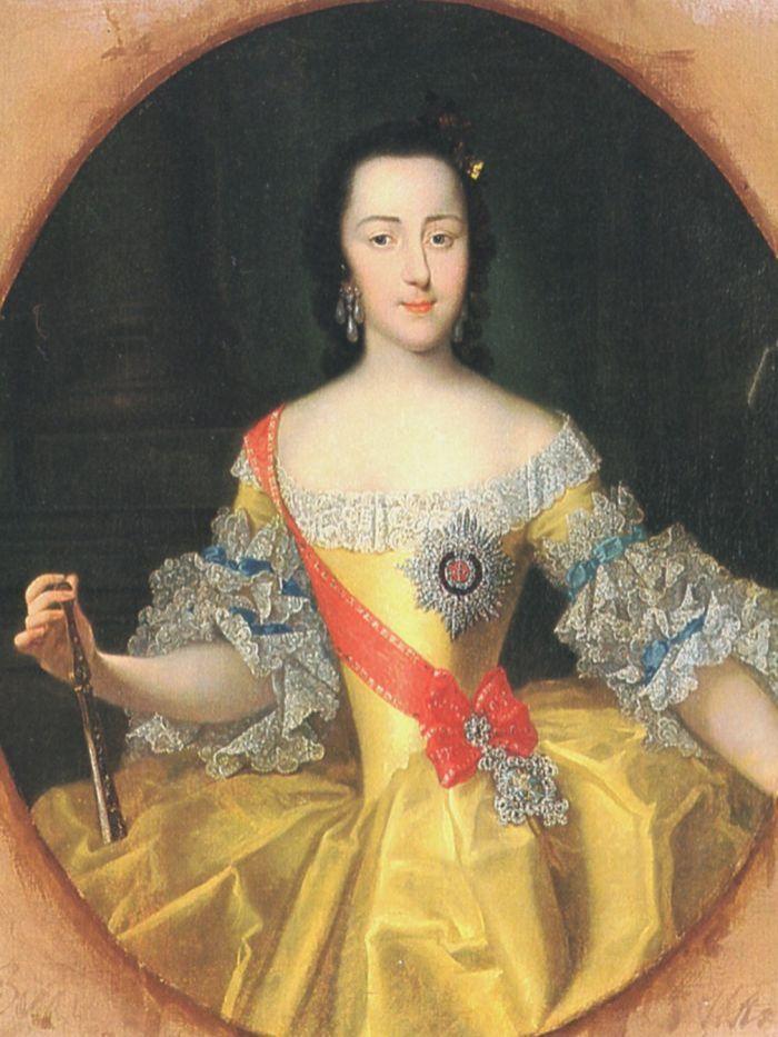 Catherine II of Russia by Vigilius Eriksen.