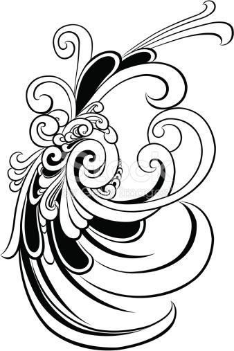 Schwarze Und Weiße Vignettierung Vektor Illustration 164414544.