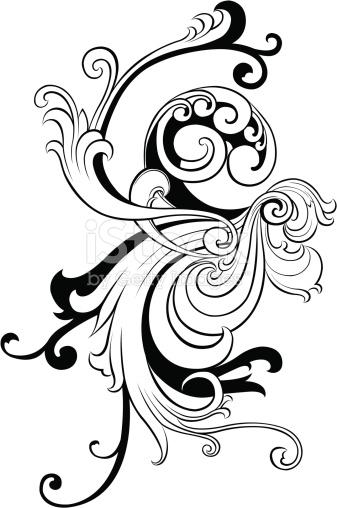 Schwarze Und Weiße Vignettierung 2 Vektor Illustration 163854864.