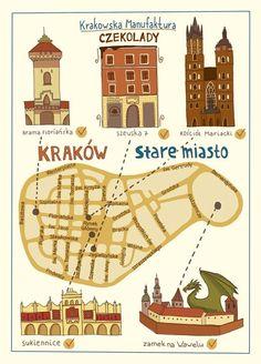 Poster del Casco Vello de Vigo (Galicia, Spain) Old Town Poster of.